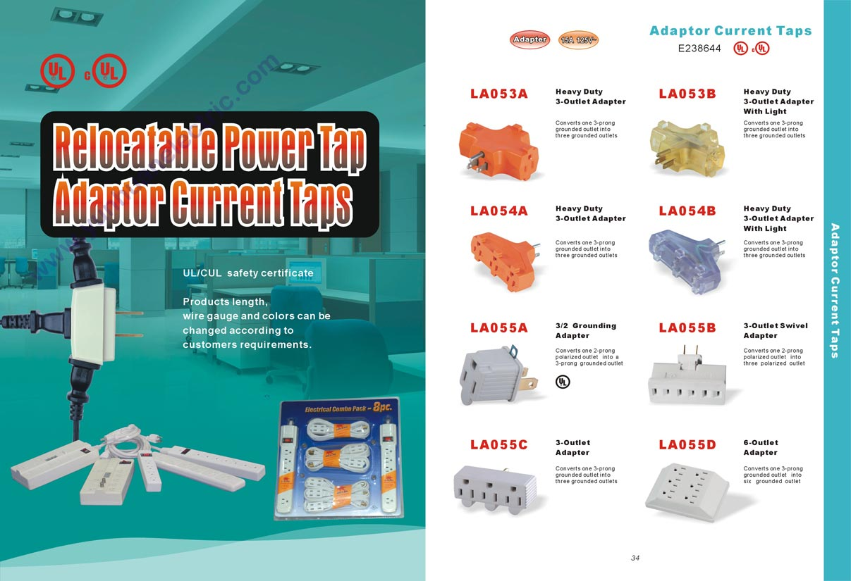 America Power Cable Extension Cord Outlet Socket Catalogue Online