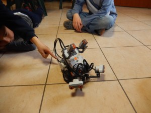 Lego Mindstorm in azione ai corsi Yunik