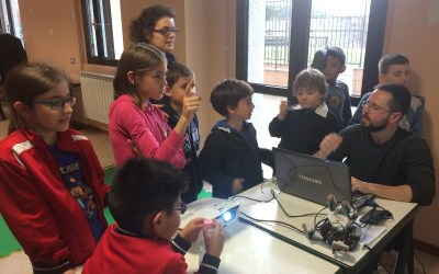 Corso di robotica educativa: Michela si è divertita un sacco!