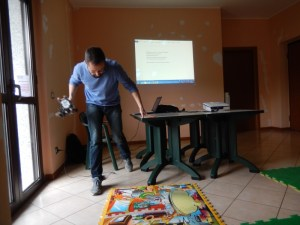Edoardo Datteri: lego mindstorm in pista