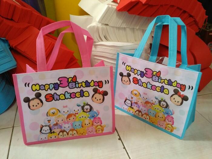 bahan tas ulang tahun