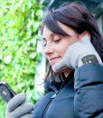 Ladies Bluetooth Gloves – BlackLadies Bluetooth Gloves – Black
