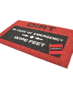 Emergency Doormat
