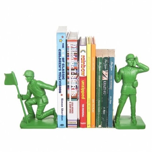 Toys Soldier Bookends