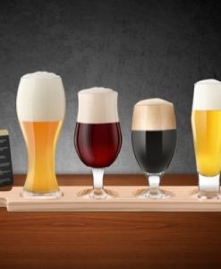 4 Piece Beer Tasting Set