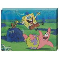 SpongeBob Canvas Wall Art - Yuppie Gadgets