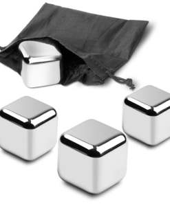 Hard Ice 1.75 inch Stainless Steel Ice Cubes