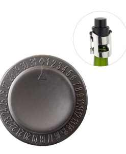 Bar Amigos Champagne Pressure Stopper - Grey
