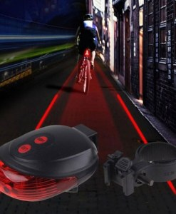 Bike Tramline Laser Safety Light