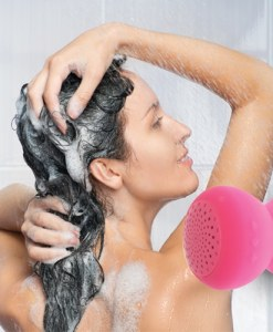 Bluetooth Shower Speaker – Pink