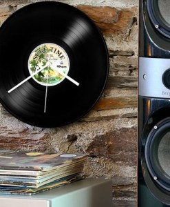 Record Collection Wall Clock – Surf Time