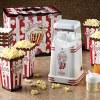 Mini Hot Air Popper with Popcorn Kit – Retro Red