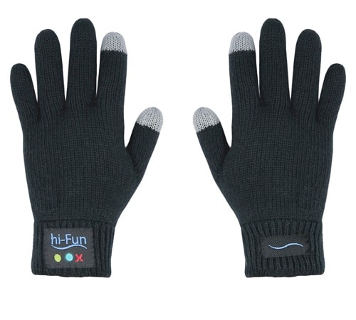 Ladies Bluetooth Gloves – Black