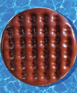 Giant Inflatable Chocolate Digestive Pool Float