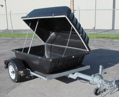 VERSA TRAILER UTILITY ENCLOSE CANOE KAYAK AND CAMPING TRAILERS