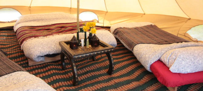 Canvas bell tents for rental  hire for uk festivals