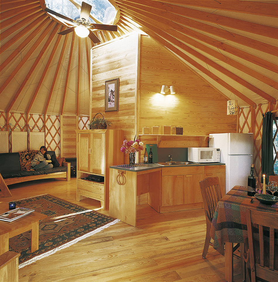 Resort  Campground Yurts  Pacific Yurts