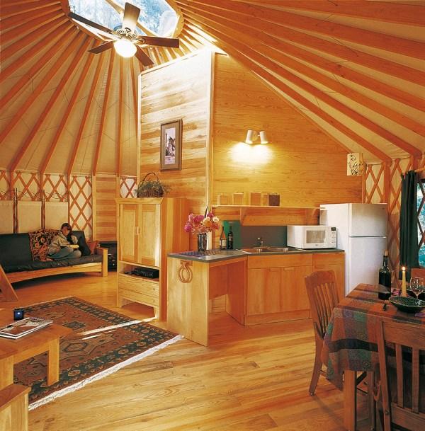 Resort & Campground Yurts - Pacific
