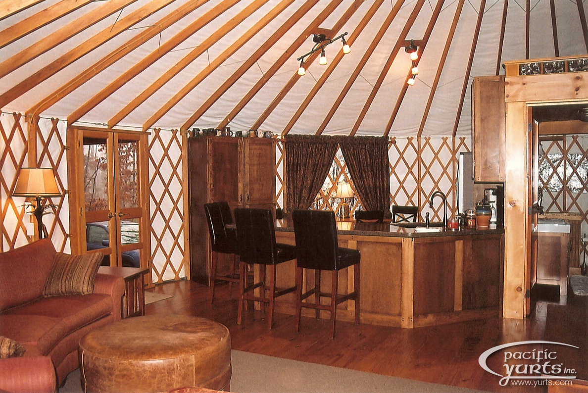 A Yurt Of My Own  Pacific Yurts