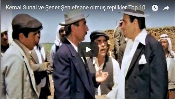 Kemal Sunal ve Şener Şen efsane olmuş replikler Top 10