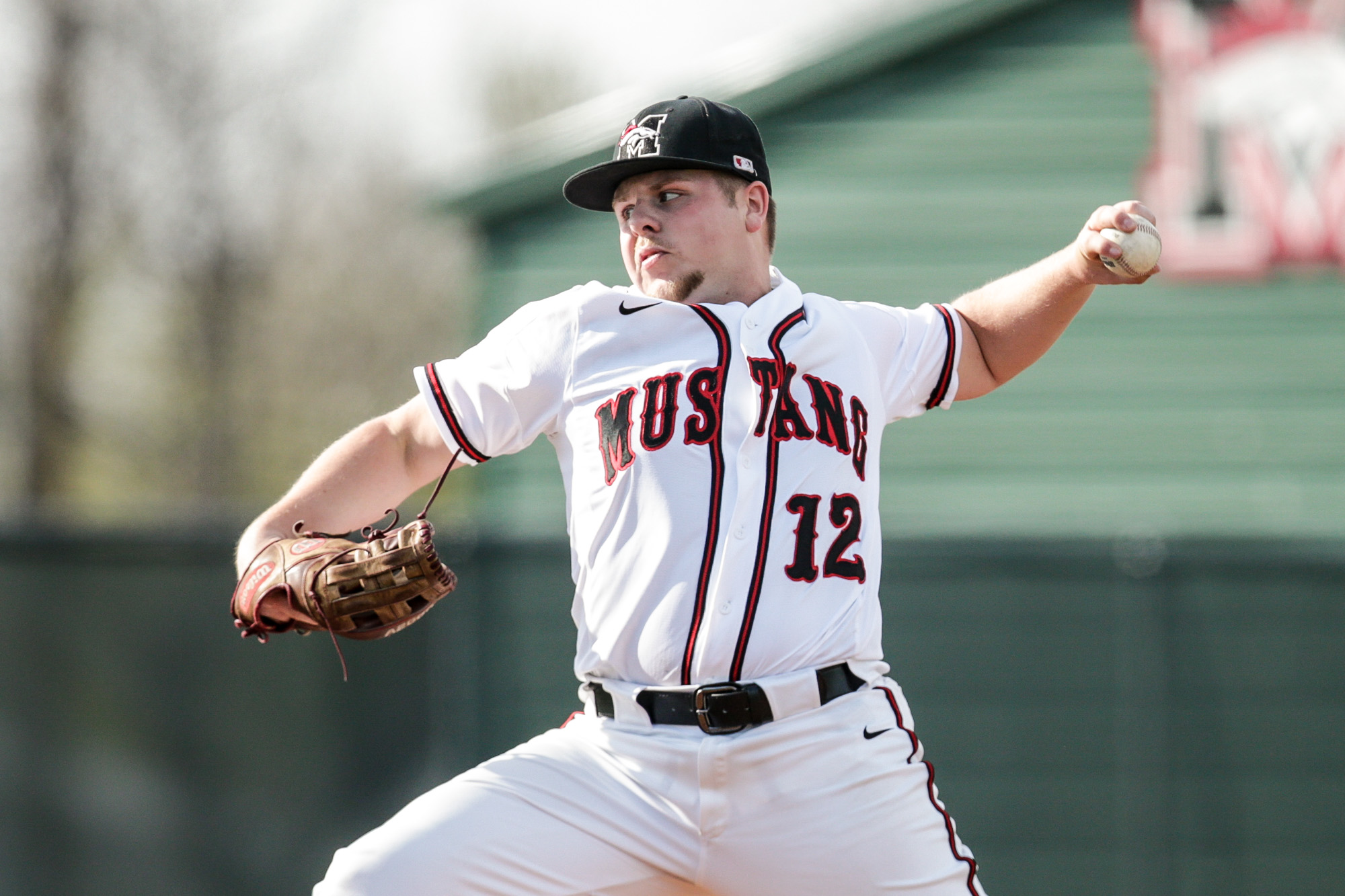 Solid Pitching by Corley Leads to Mustang 111 Victory