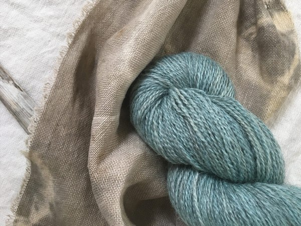 bfl-gotland-stormy-colour dyed by yurwool