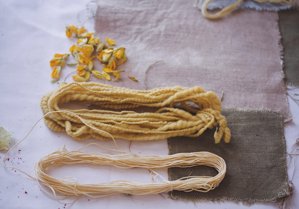plant-dyed-yarn-gorse-yellow