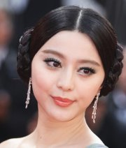 princess leia prom hairstyle