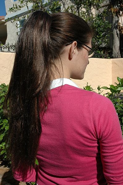 Ponytail Hairstyle For Long And Medium Hairs