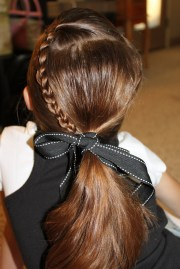 ponytail hairstyle ideas girls