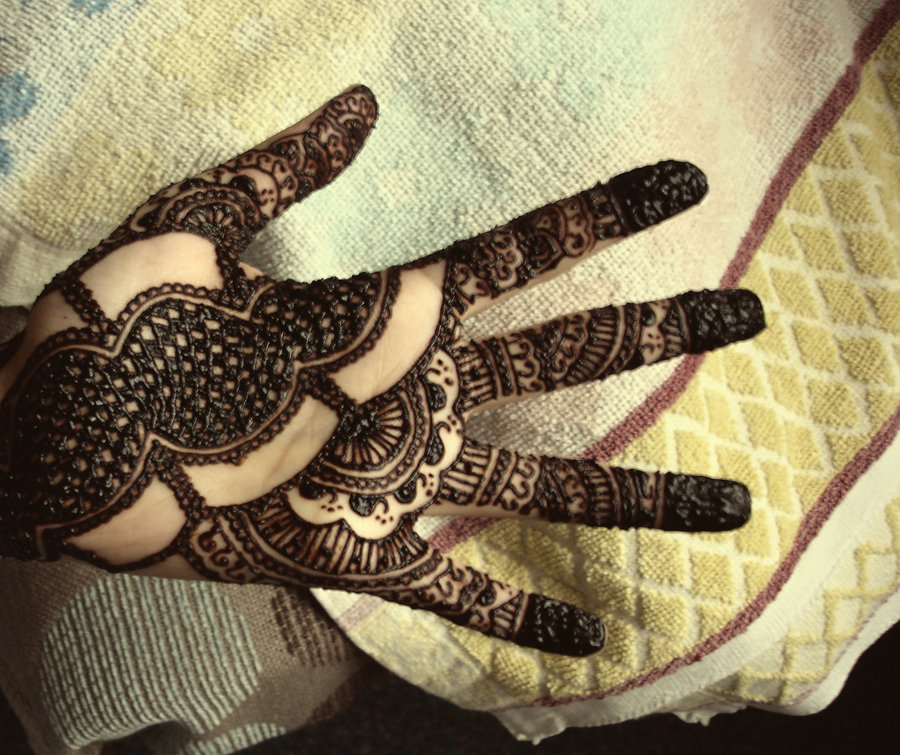 Mehndi Design Arabic Simple And Easy Photo