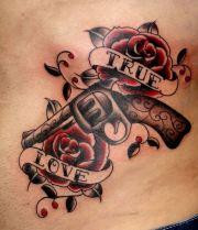 beautiful school tattoo design