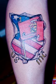 stunning patriotic tattoo design