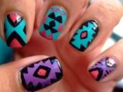 inspirational summer nail painting