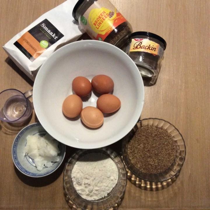 Koken-YuStSoMe-lijnzaadbrood-kokos3