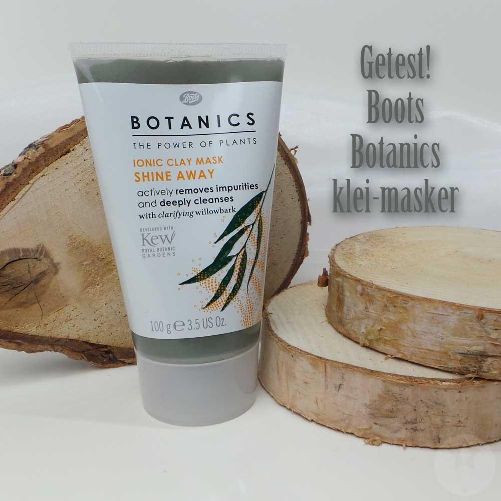 Boots | Botanics | klei masker