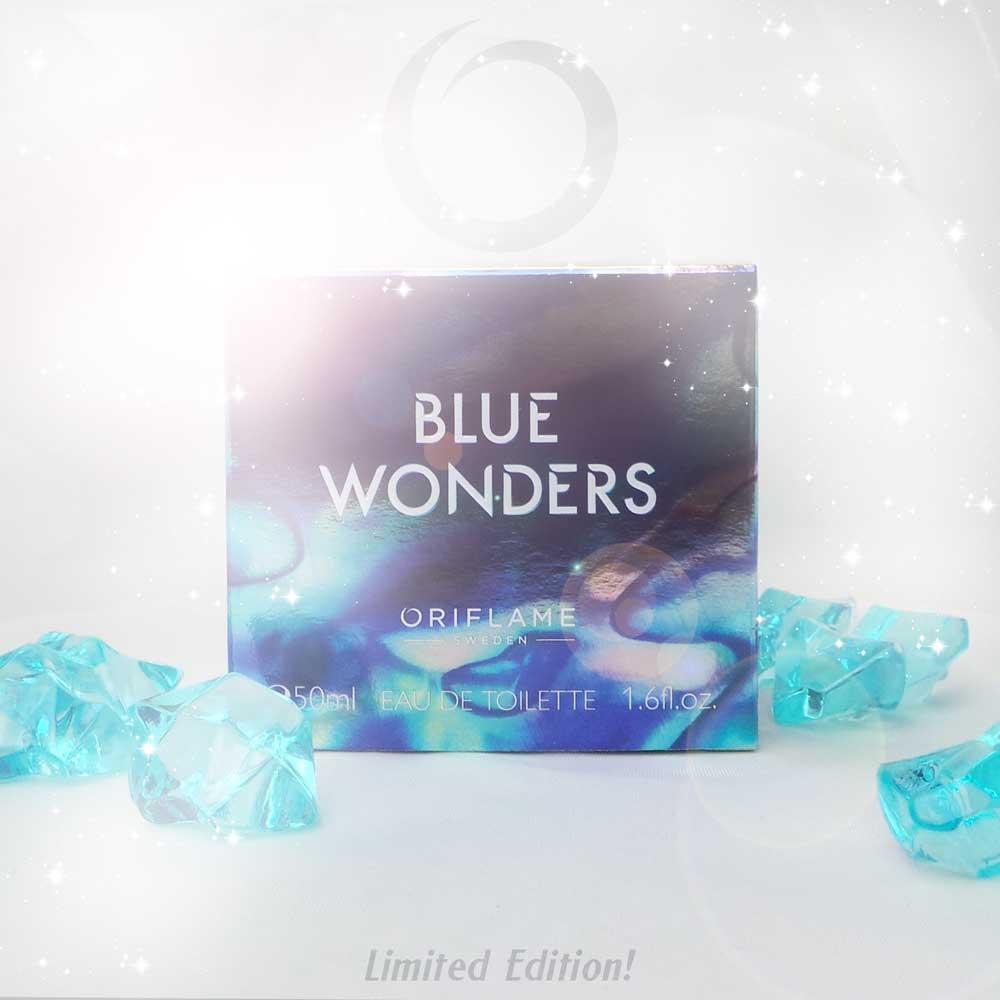 Nieuw van Oriflame: 'Amazing Paradise' Eau de Parfum en 'Blue Wonders' Eau de Toilette