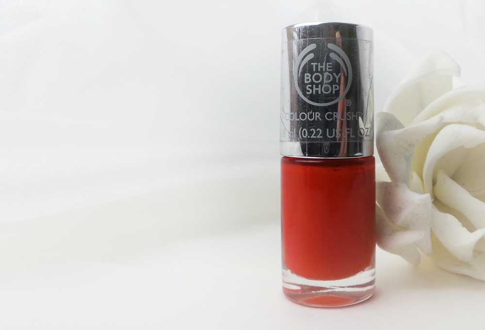 The Body Shop | Red my mind | Swatched-it