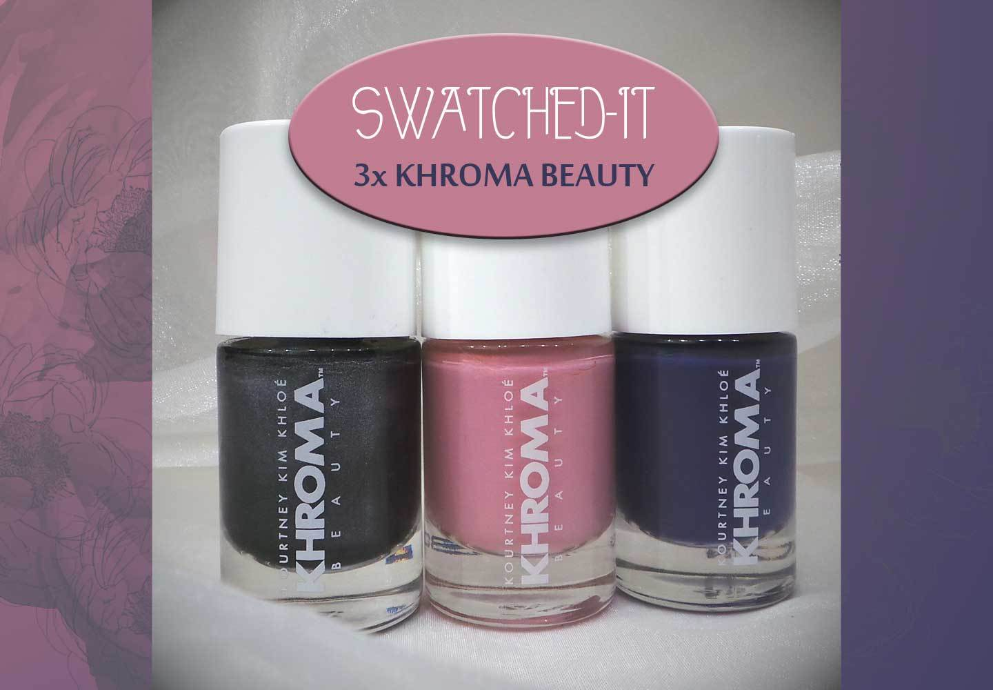 3 x Swatched-it | nagellak | Keeping up with…
