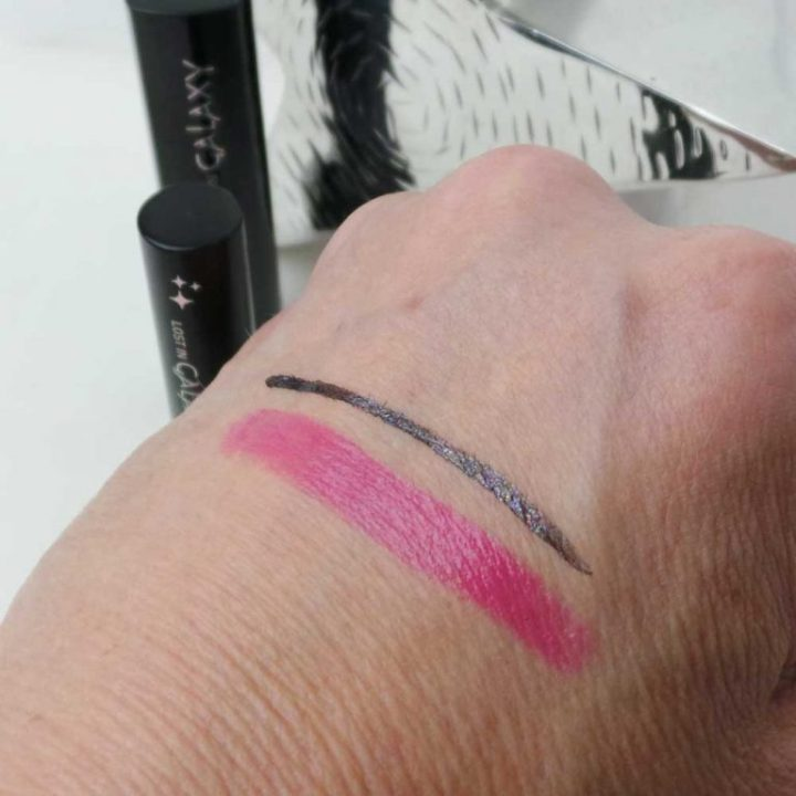 lost-in-galaxy-douglas-make-up-cosmetica-yustsome-review-beauty-Eyeliner-lipstick-1-swatch