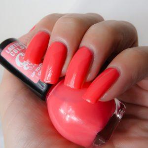 Miss Sporty gel nagellak pink