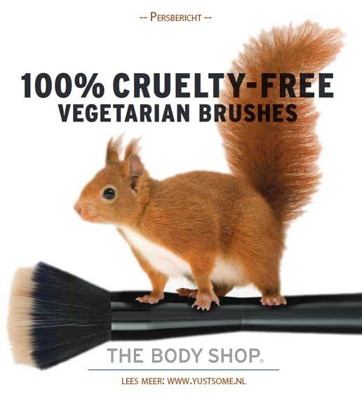 Vegetarian Brushes | NIEUW