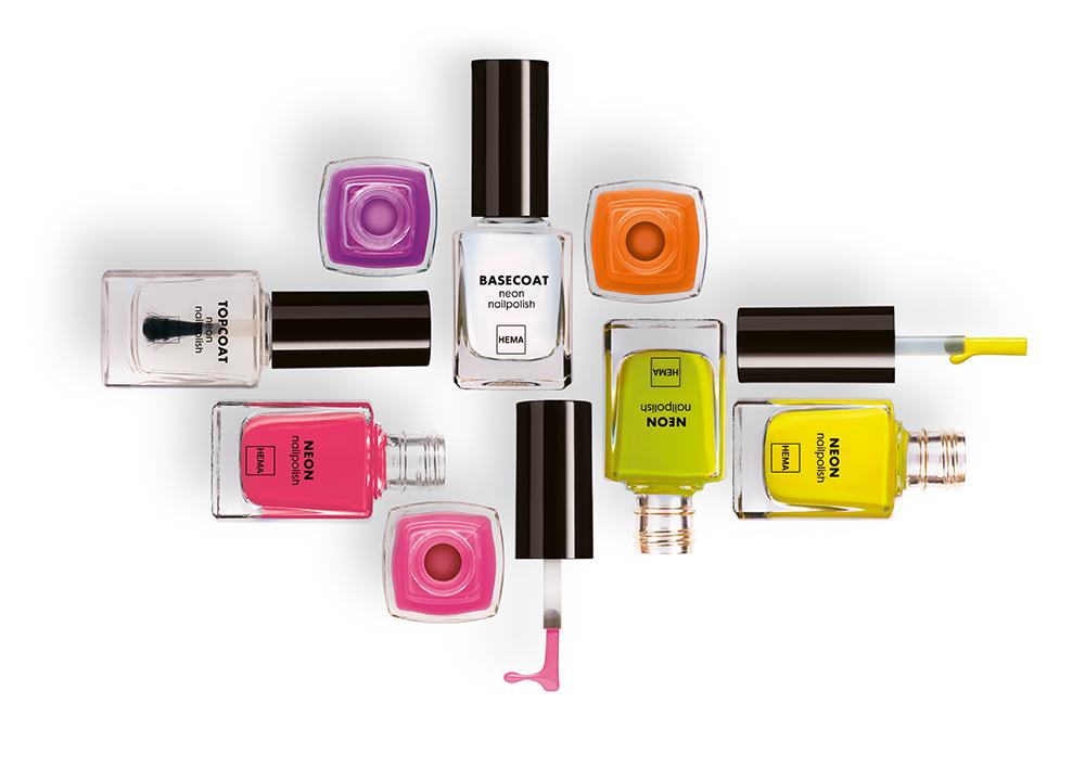 HEMA BEAUTY lanceert zes limited edition neon nagellak kleuren