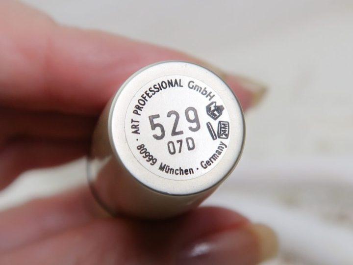 Arabesque, 529, lipstick, lip, professional, beauty, gloss, yustsome, glow,