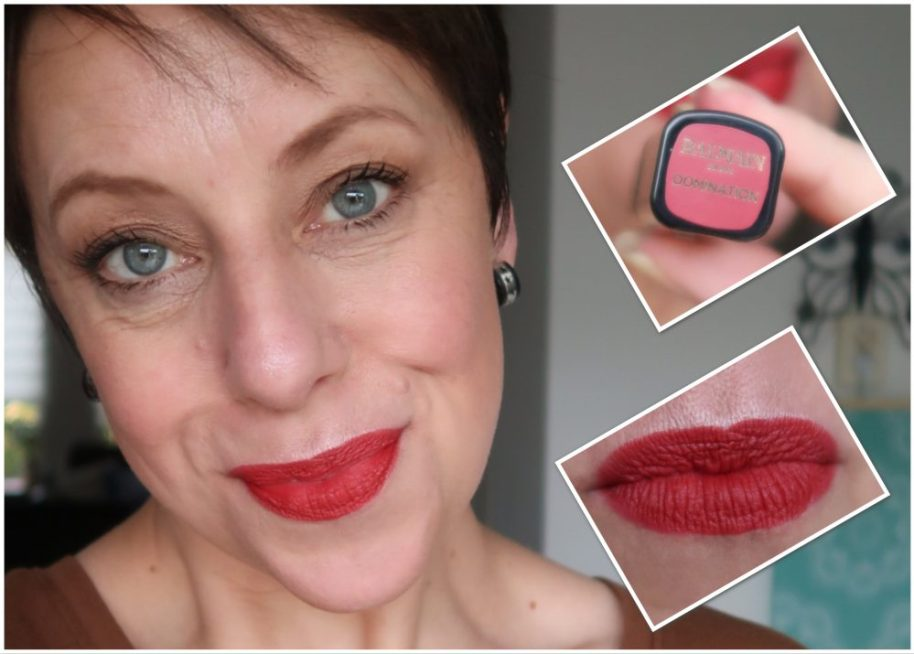 Balmain, lipstick, l'oreal paris, swatch, lippen, stift, lips, lip, red, domination, beauty, blog, yustsome