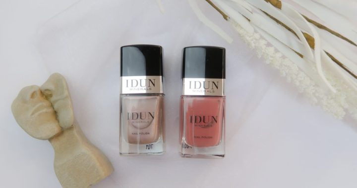 Idun, minerals, make-up, cosmetica, nagellak, review, beauty, blog, yustsome, swatch, nagellak, nails, vernis, ongles