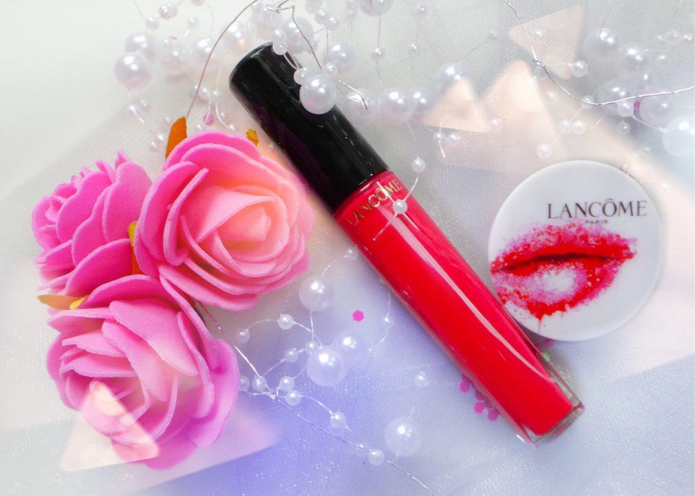 In het roze met Lancôme