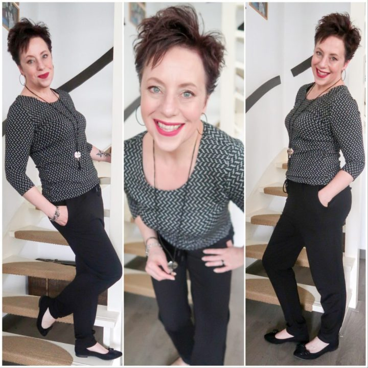 Vila, sweat, pants, jogger, black, zwart, broek, sjiek, sportief, fashion, fashionista, blog, yustsome, fashionover40
