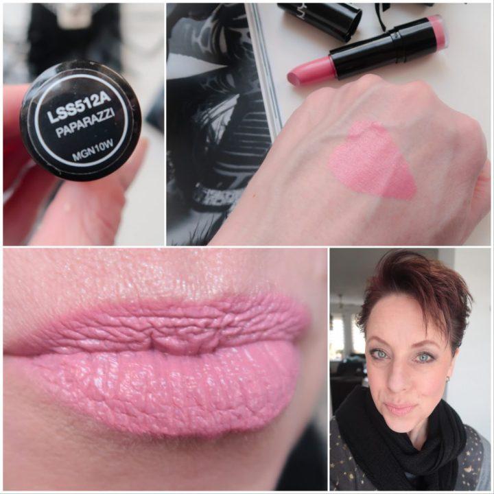 Nyx, paparazzi, swatch, lips, lipstick, budget, pink, beauty, yustsome, blog