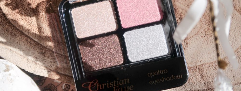Christian, Faye, eyeshadow, palette, Quattro, makeup, look, beauty, blogger, yustsome, sample
